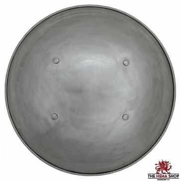 Domed Steel Buckler Shield