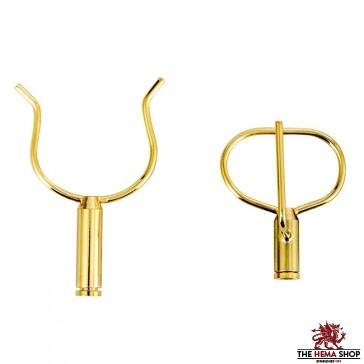 Brass Wall Hanger Set for Katana
