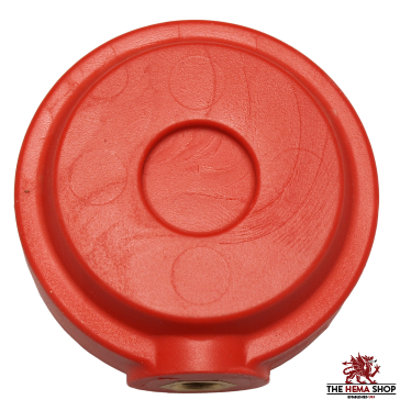 Red Dragon HEMA Synthetic Wheel Pommel - Red