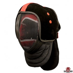 Red Dragon HEMA Leather Mask Overlay