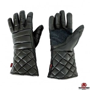 Red Dragon Padded Swordsman's Gloves